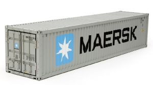 Maersk 40-Foot Container for Tamiya 1/14 Scale Container Semi-Trailer
