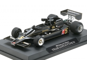 1/20 Team Lotus Lotus Type 78 1977 British GP No.5 (Finished Model)