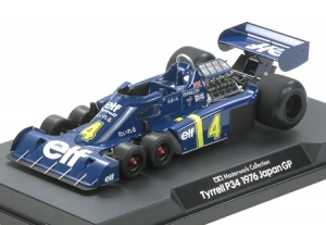 1/20 Tyrrell P34 1976 Japan GP, No.4 (Finished Model)