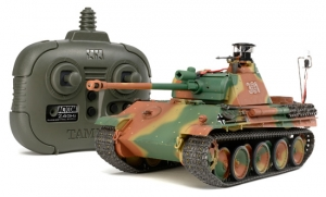 German Panther Type G Late Version (w/2.4GHz Control Unit) (Finished Model)
